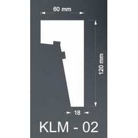 Taklist Frigolit KLM02