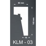 Taklist Frigolit KLM03
