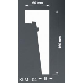 Taklist Frigolit KLM04